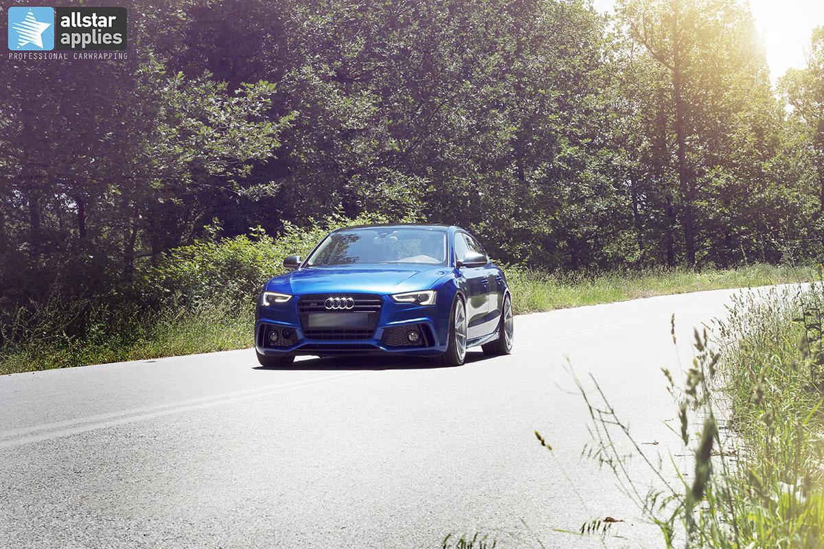 Audi s5 αυτοκόλλητα αλλαγής χρώματος αυτοκινήτου Thessaloniki Allstar Applies