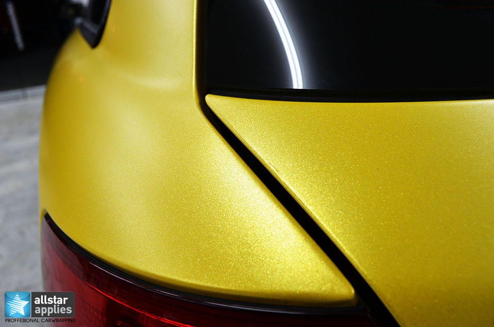 Audi Α4-Sunflower Yellow Metallic Matte (8)