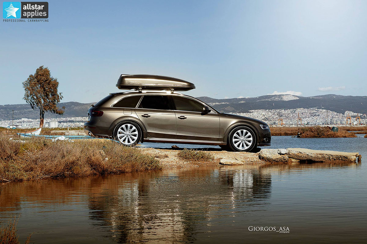 Audi A4 Allroad - Charcoal Metallic (1)