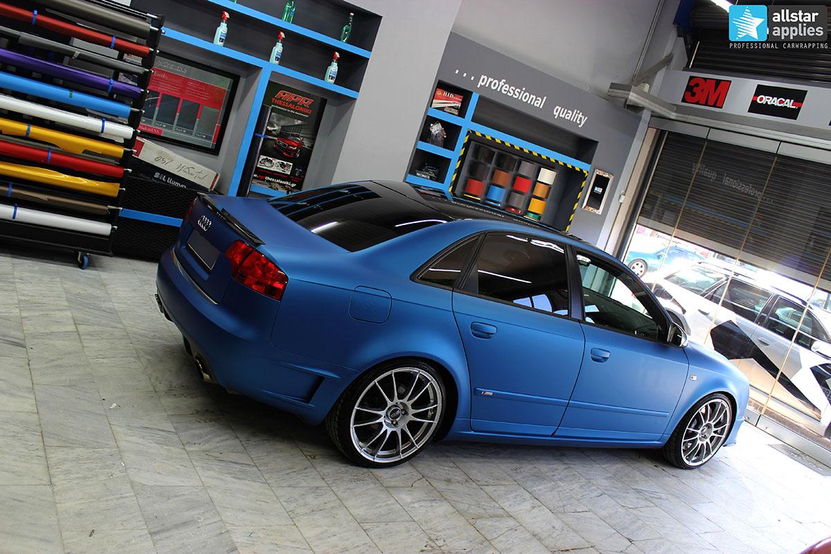 Audi A4 DTM - Blue Metallic Matte (1)