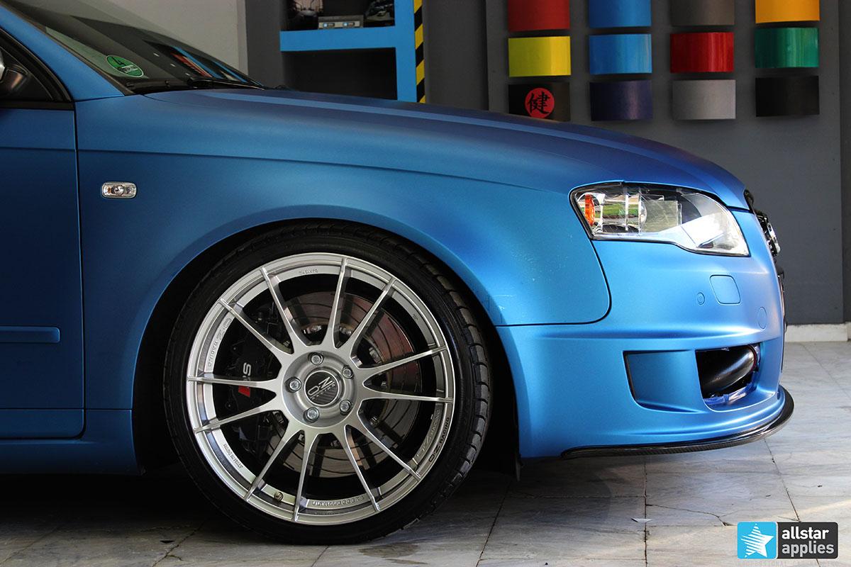 Audi A4 DTM - Blue Metallic Matte (2)