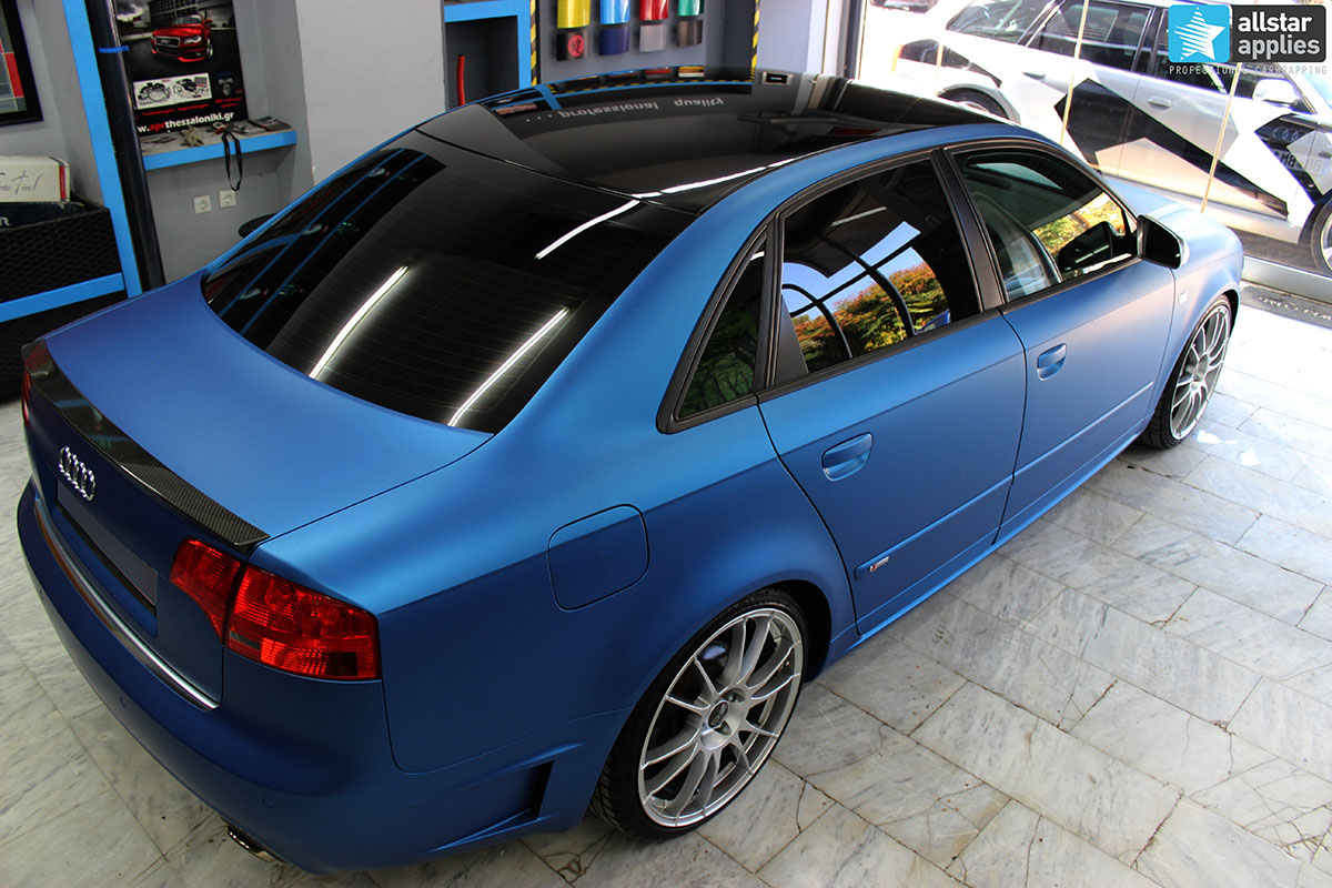 Audi A4 DTM - Blue Metallic Matte (3)