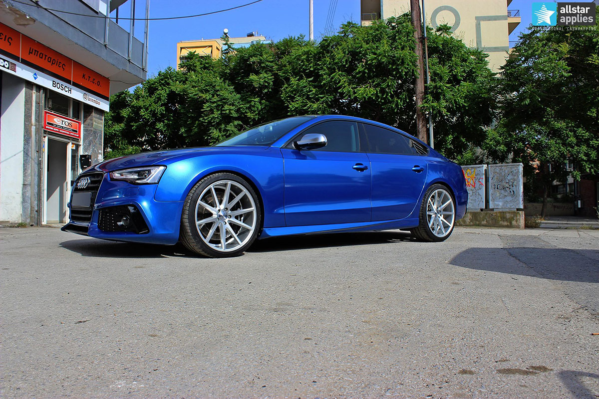 Audi S5 - Gloss Blue Metallic (1)