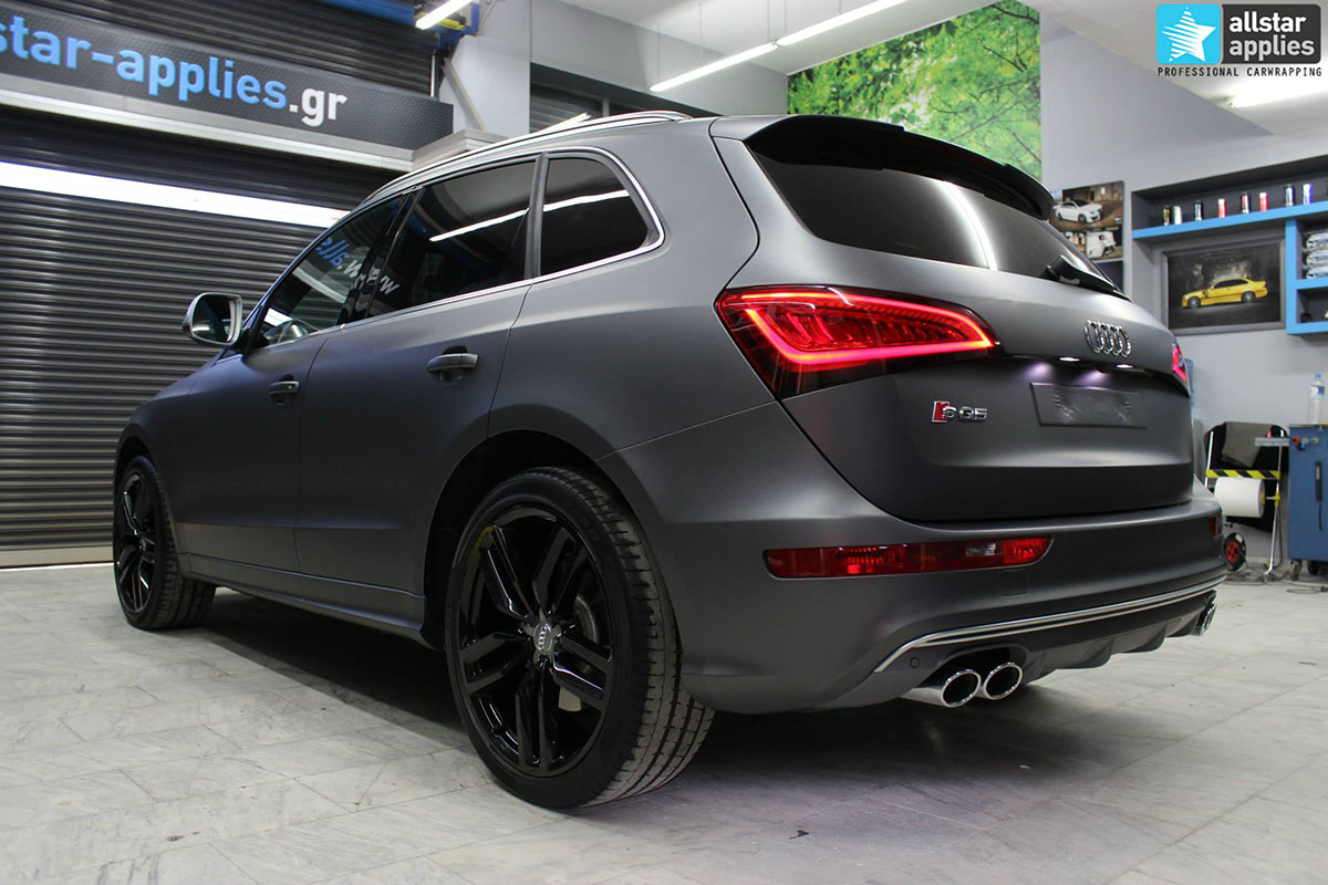 Audi SQ5 - Dark Grey Matte (1)