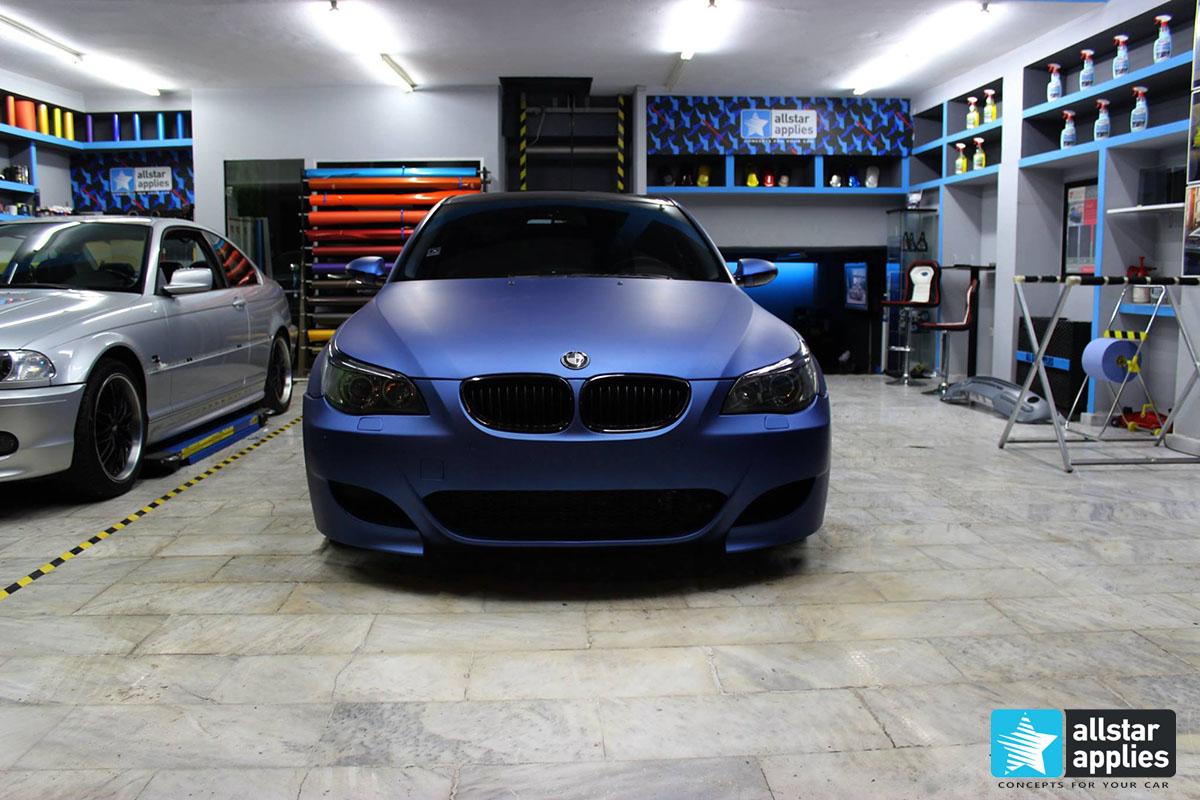 BMW E60 - Deep Ocean (1)