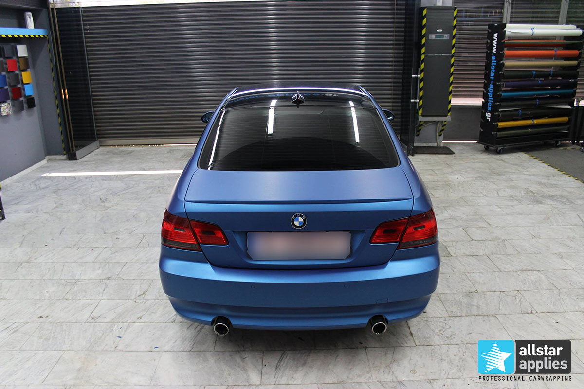 BMW E92 - Blue Metallic Matte (14)