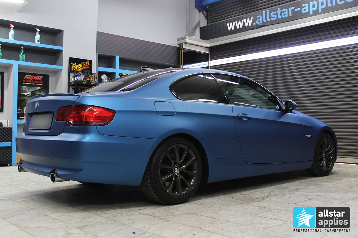BMW E92 - Blue Metallic Matte (2)