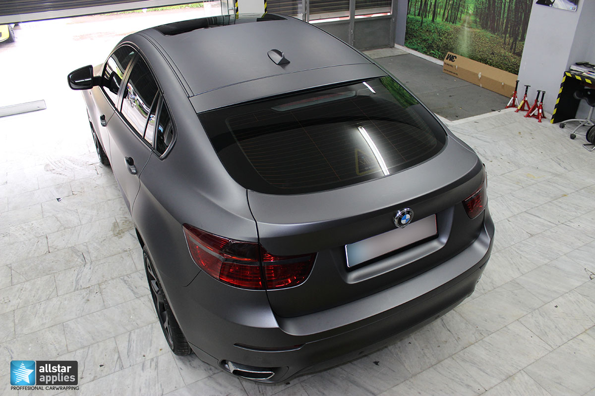 BMW X6 – Dark Grey Matte (4)