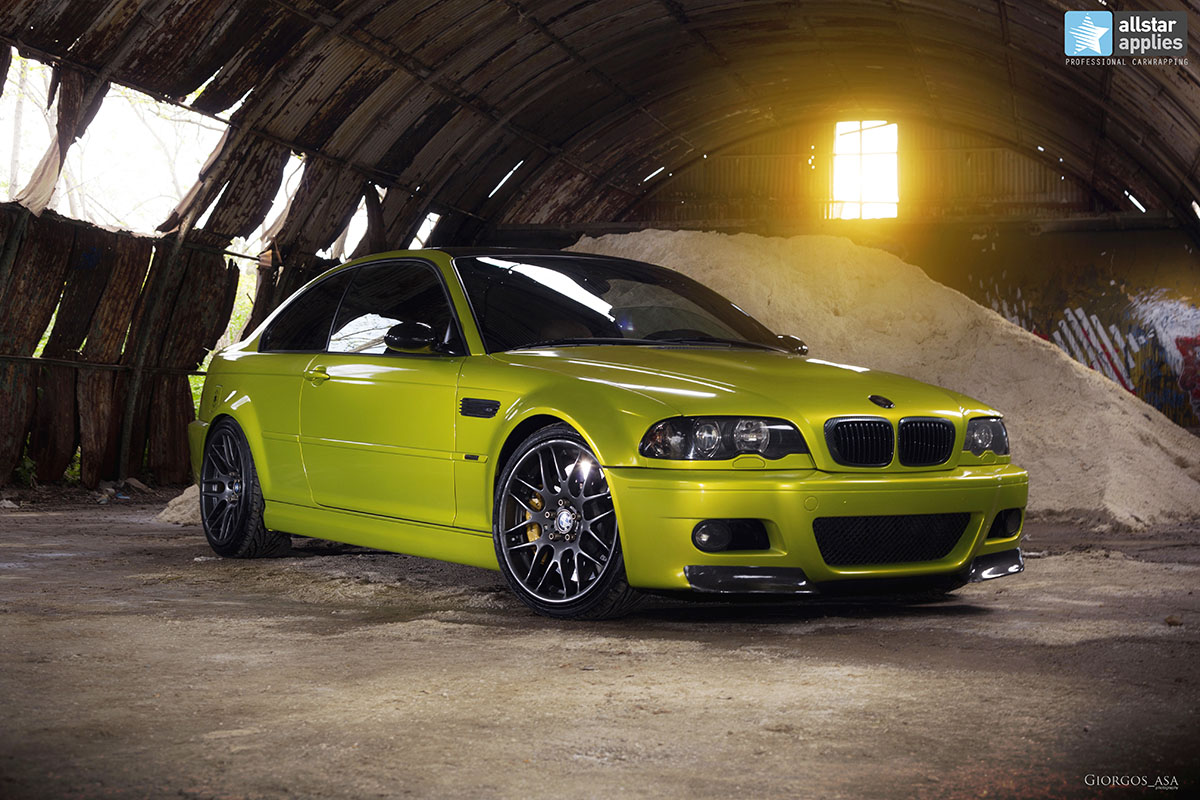 Bmw M3 E46 - Electric Lime (1)