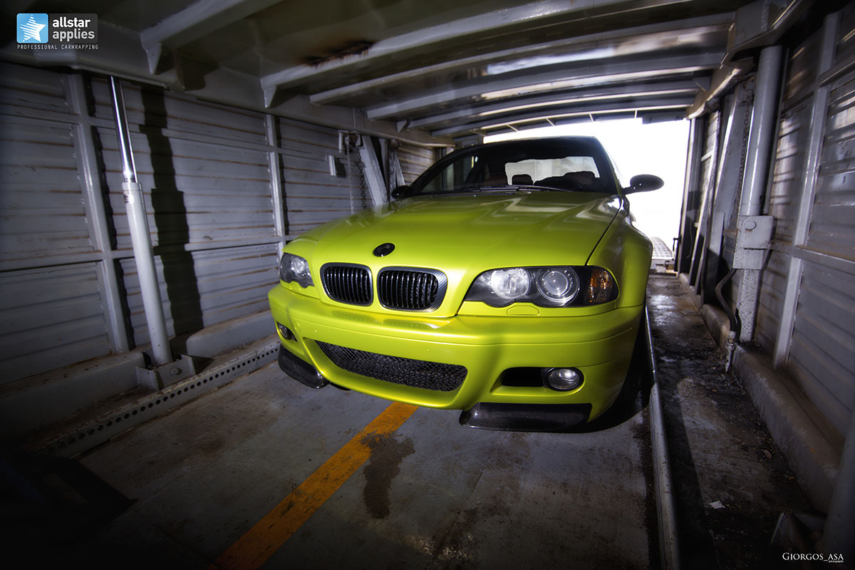 Bmw M3 E46 - Electric Lime (11)