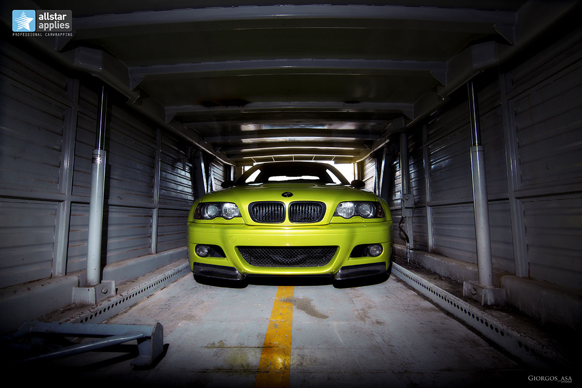 Bmw M3 E46 - Electric Lime (12)