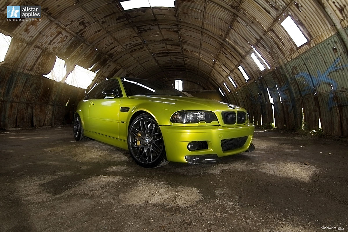 Bmw M3 E46 - Electric Lime (13)