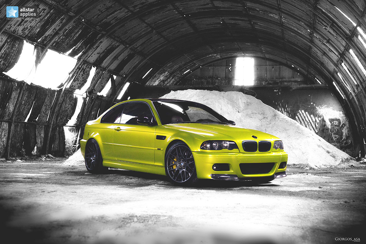 Bmw M3 E46 - Electric Lime (2)