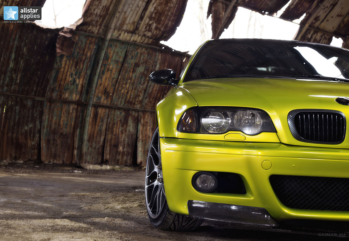 Bmw M3 E46 - Electric Lime (3)
