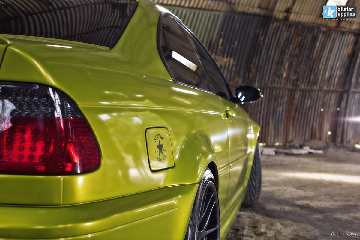 Bmw M3 E46 - Electric Lime (4)