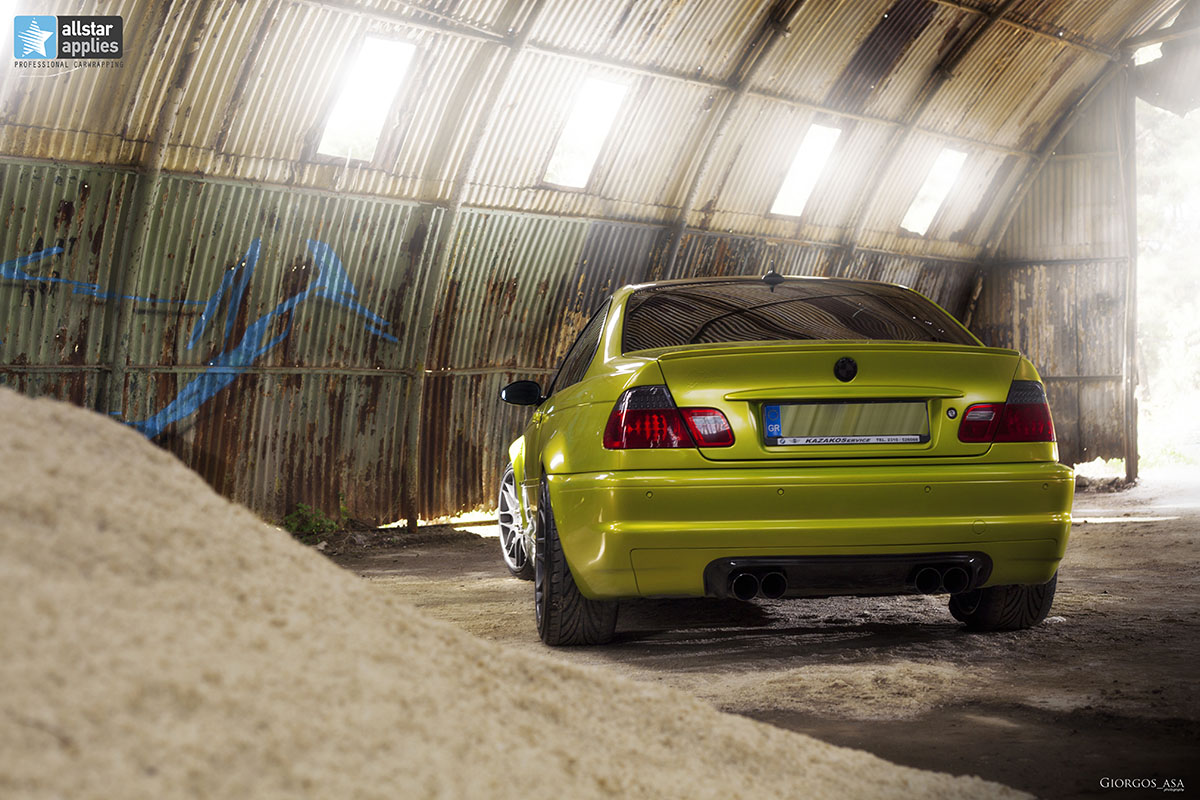 Bmw M3 E46 - Electric Lime (6)