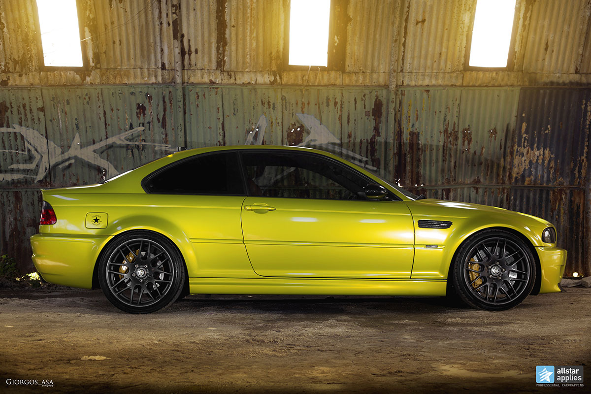 Bmw M3 E46 - Electric Lime (7)