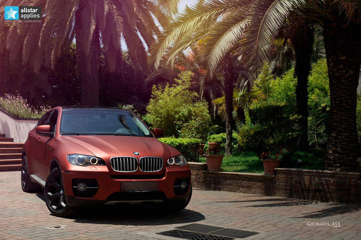 Bmw X6 - Red Aluminium (1)