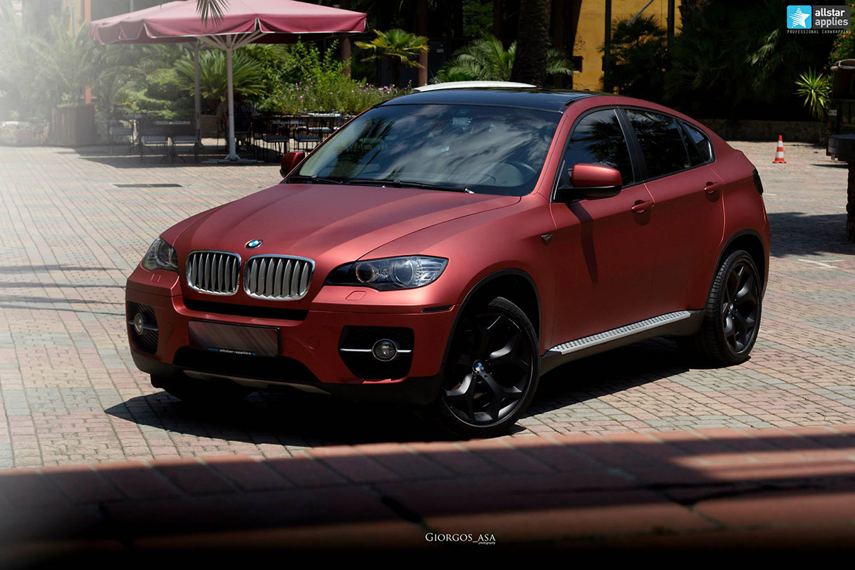 Bmw X6 - Red Aluminium (4)