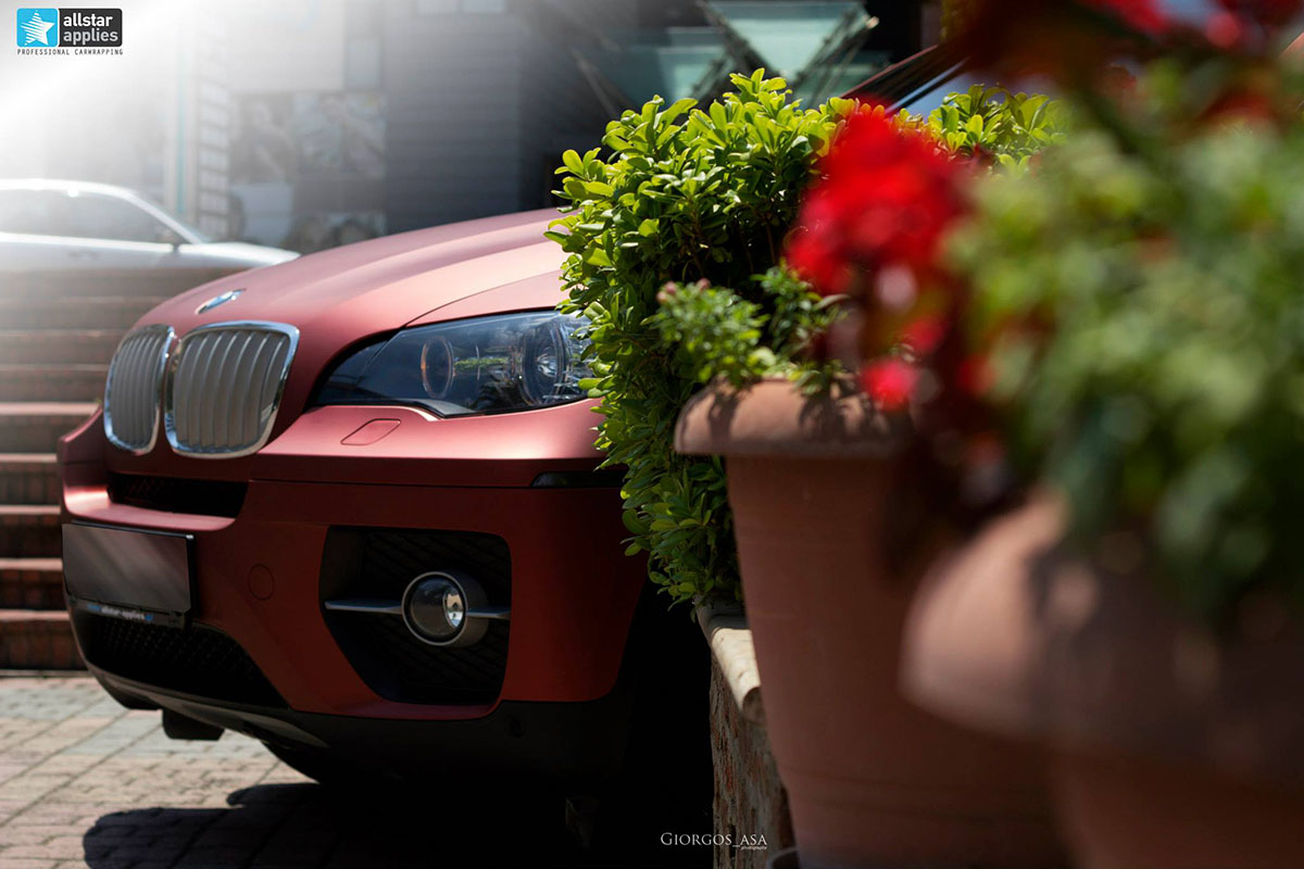 Bmw X6 - Red Aluminium (5)