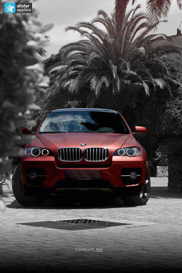 Bmw X6 - Red Aluminium (7)
