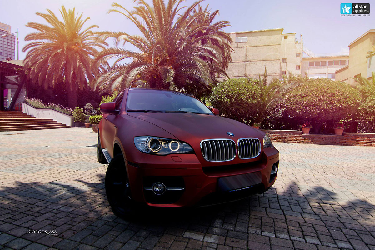 Bmw X6 - Red Aluminium (9)
