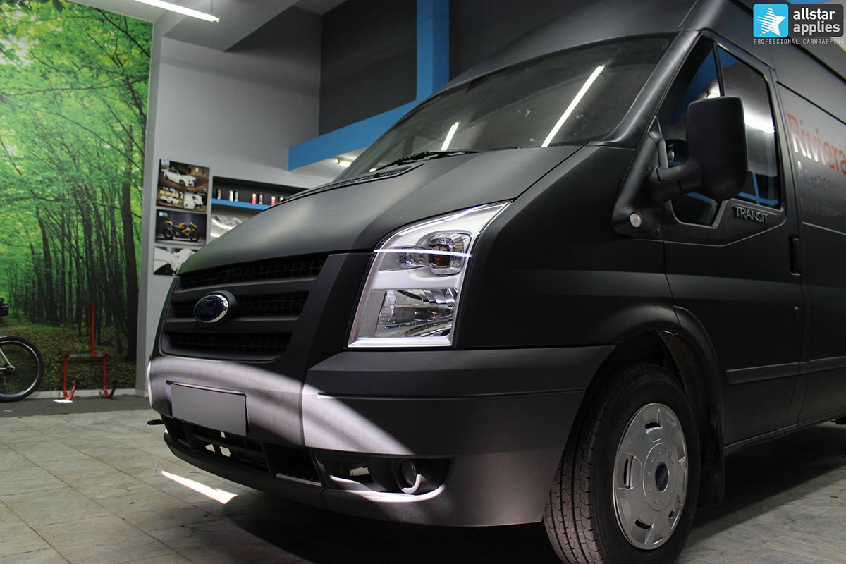 Ford Transit - Deep Black Matte (7)