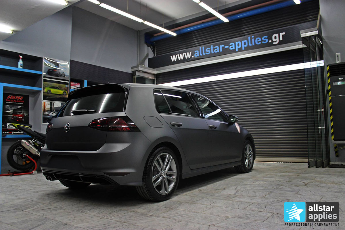 Golf 7 R-line - Dark Grey Matte (1)