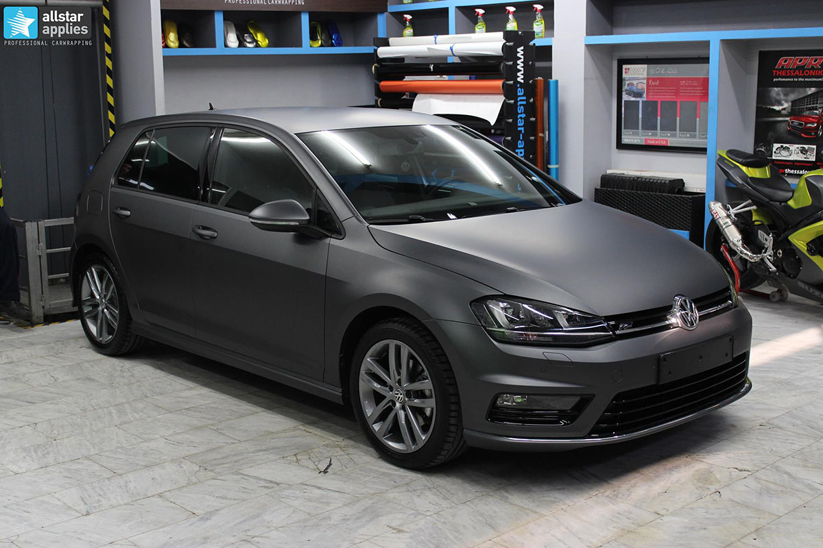 Golf 7 R-line - Dark Grey Matte (10)
