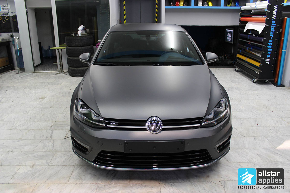Golf 7 R-line - Dark Grey Matte (13)