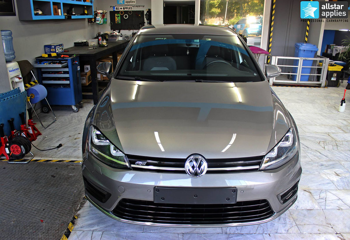 Golf 7 R-line - Dark Grey Matte (15)