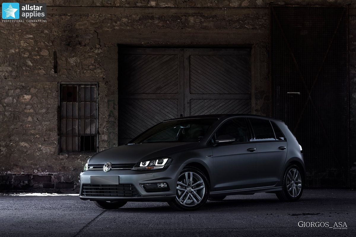 Golf 7 R-line - Dark Grey Matte (2)
