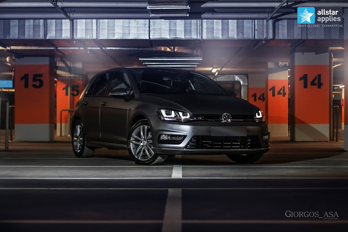 Golf 7 R-line - Dark Grey Matte (3)