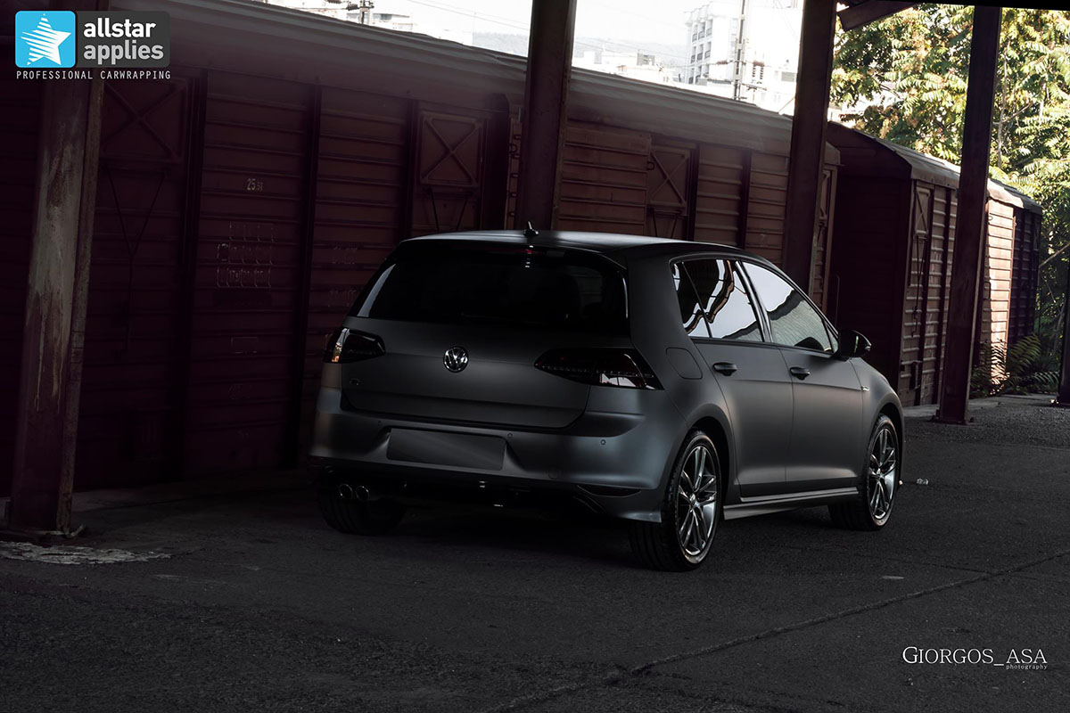 Golf 7 R-line - Dark Grey Matte (4)