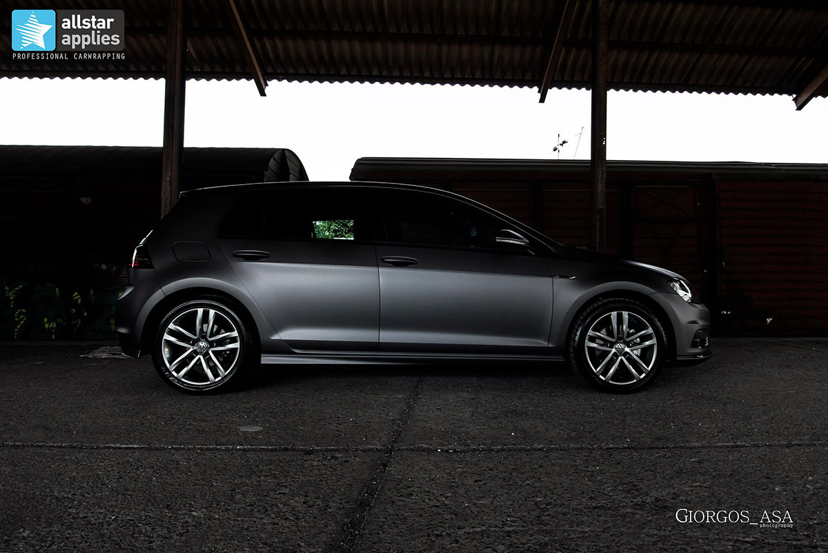 Golf 7 R-line - Dark Grey Matte (6)