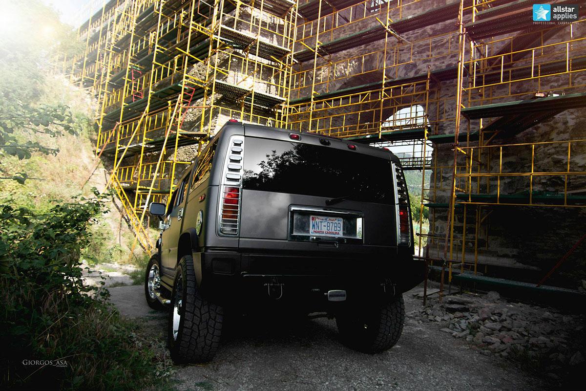 Hummer H2 - Dark Grey Matte (5)