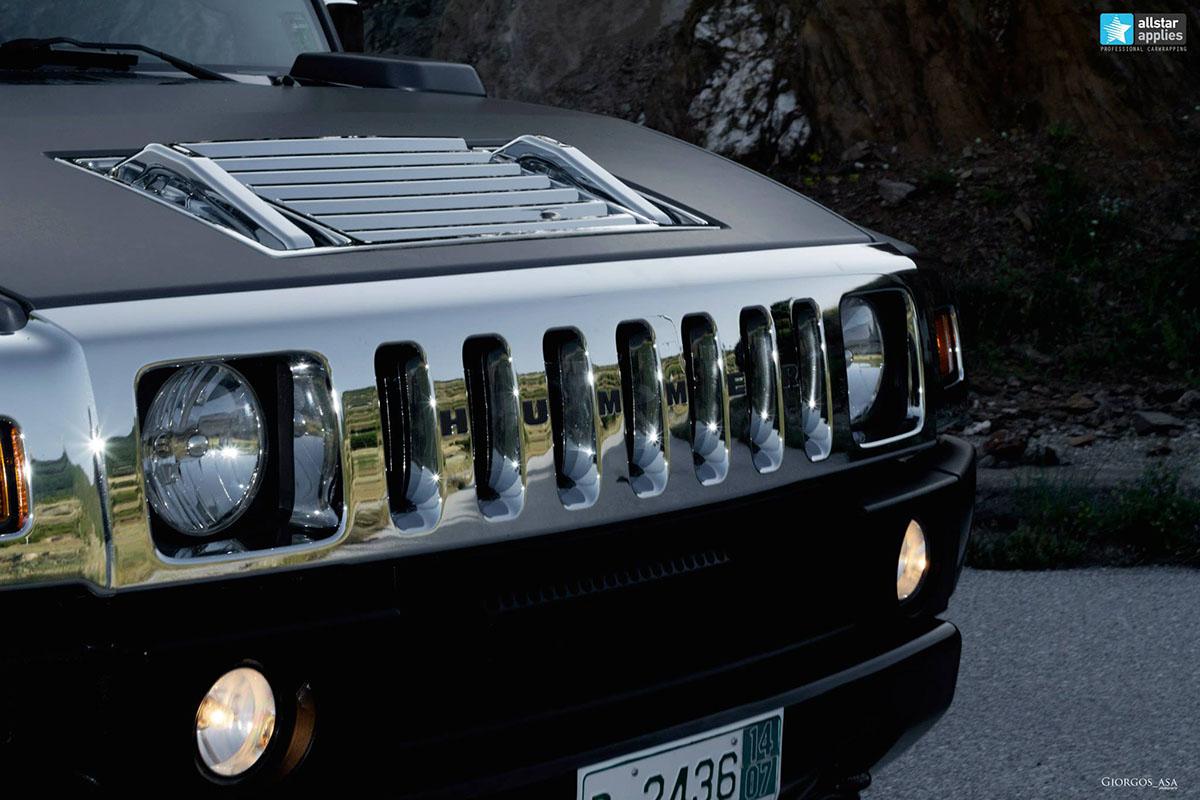 Hummer H2 - Dark Grey Matte (7)