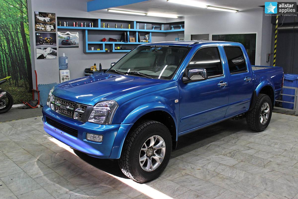 Isuzu Dmax - Gloss Blue Metallic (8)
