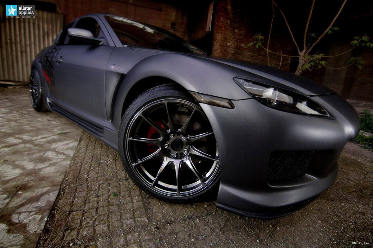 Mazda RX-8 - Dark Grey Matte (2)