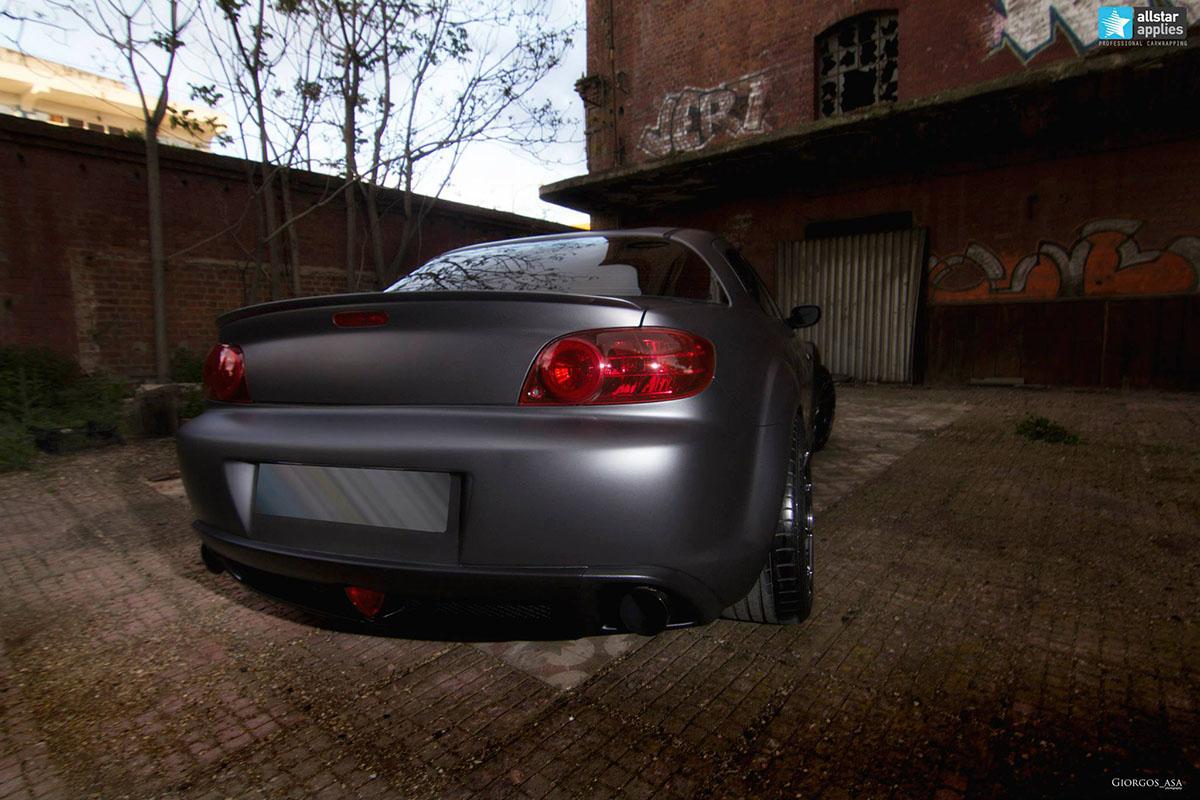 Mazda RX-8 - Dark Grey Matte (5)