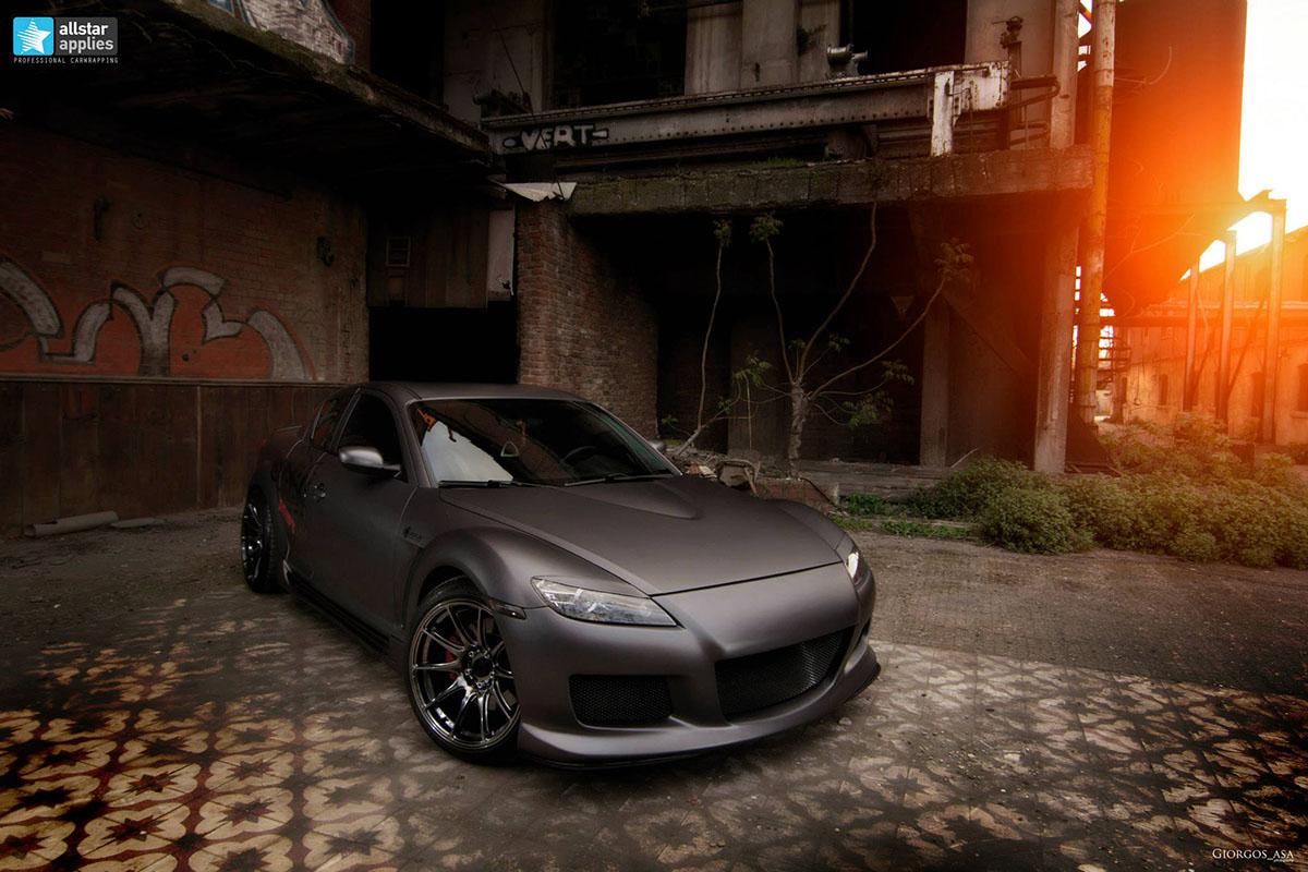 Mazda RX-8 - Dark Grey Matte (7)