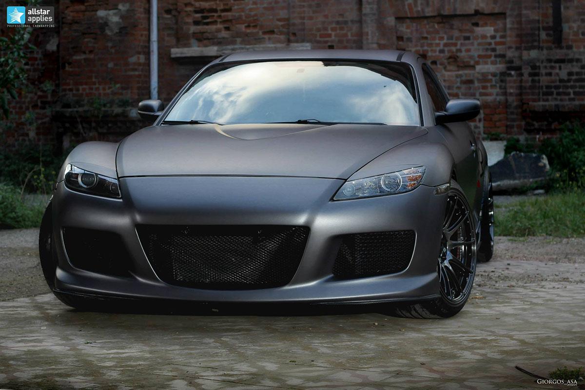Mazda RX-8 - Dark Grey Matte (8)