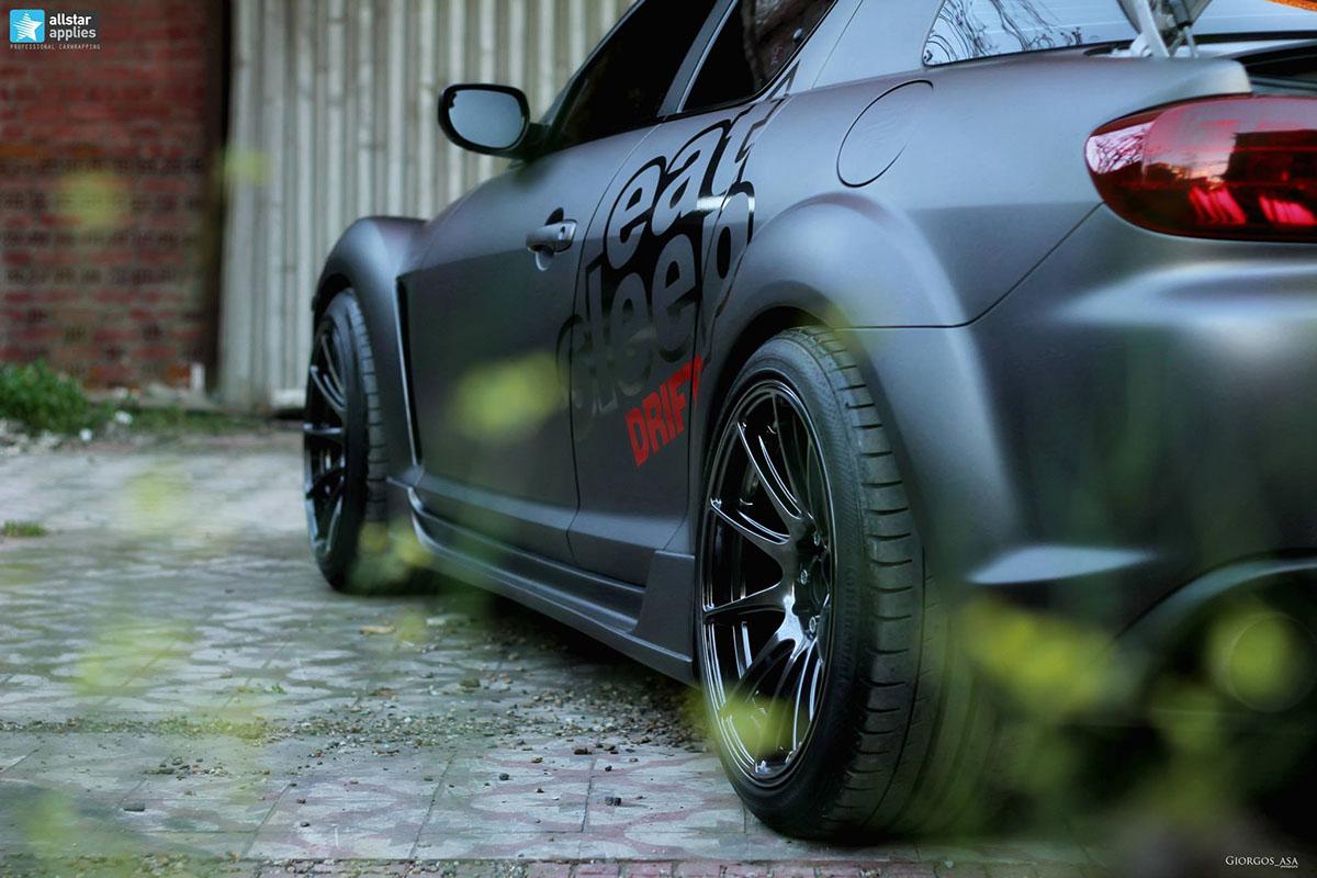 Mazda RX-8 - Dark Grey Matte (9)
