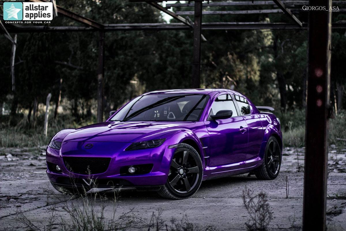 Mazda RX8 - Amethyst (1)