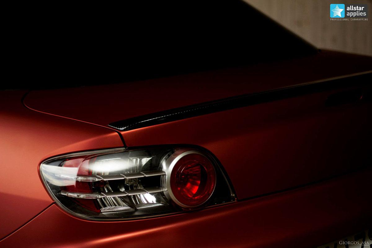 Mazda RX8 - Red Aluminium Matte (3)