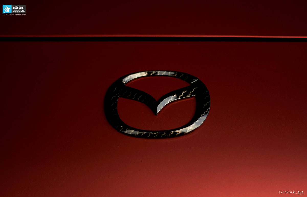 Mazda RX8 - Red Aluminium Matte (4)