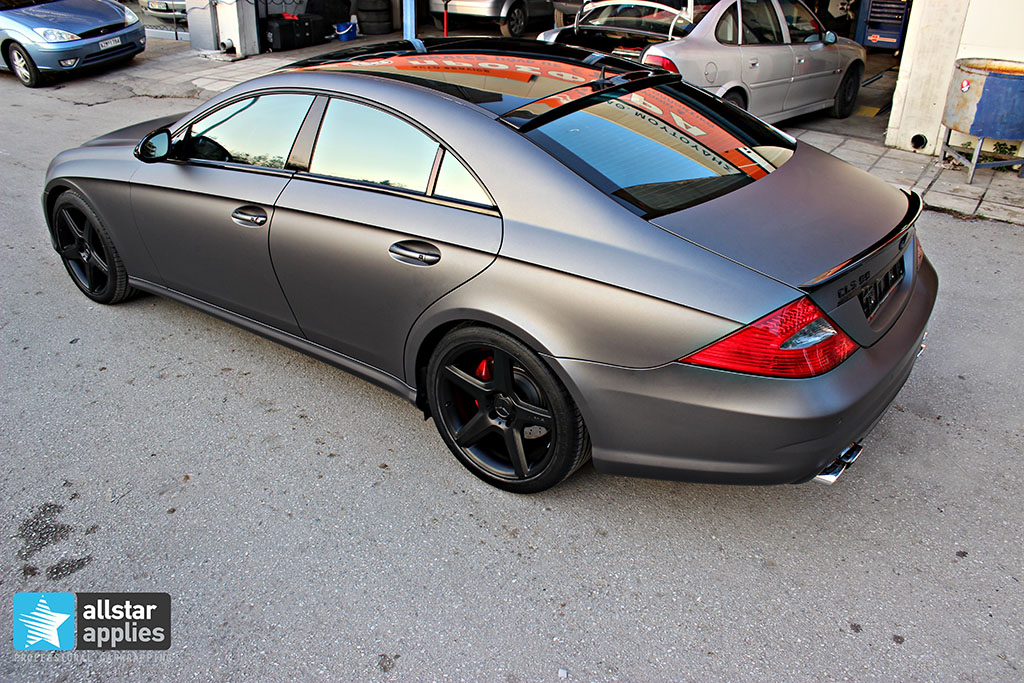 Mercedes CLS 55 AMG - Dark Grey Matte (1)