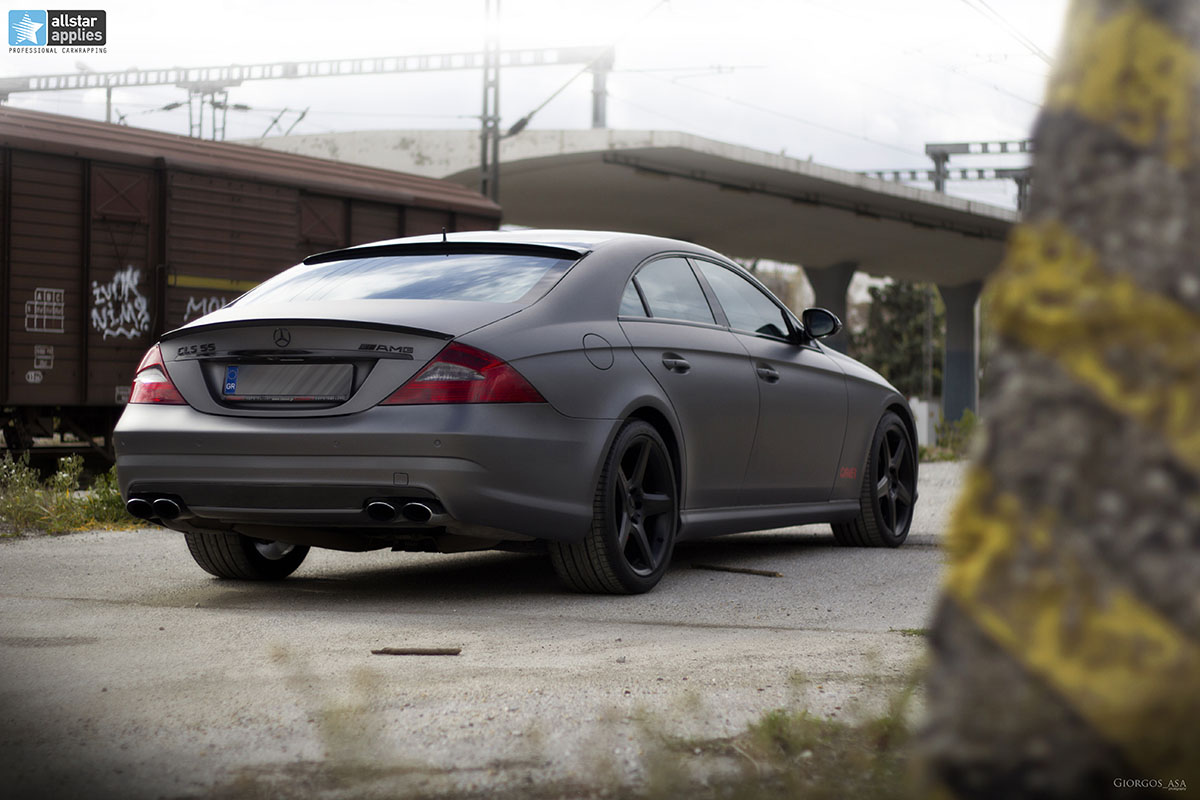 Mercedes CLS 55 AMG - Dark Grey Matte (11)
