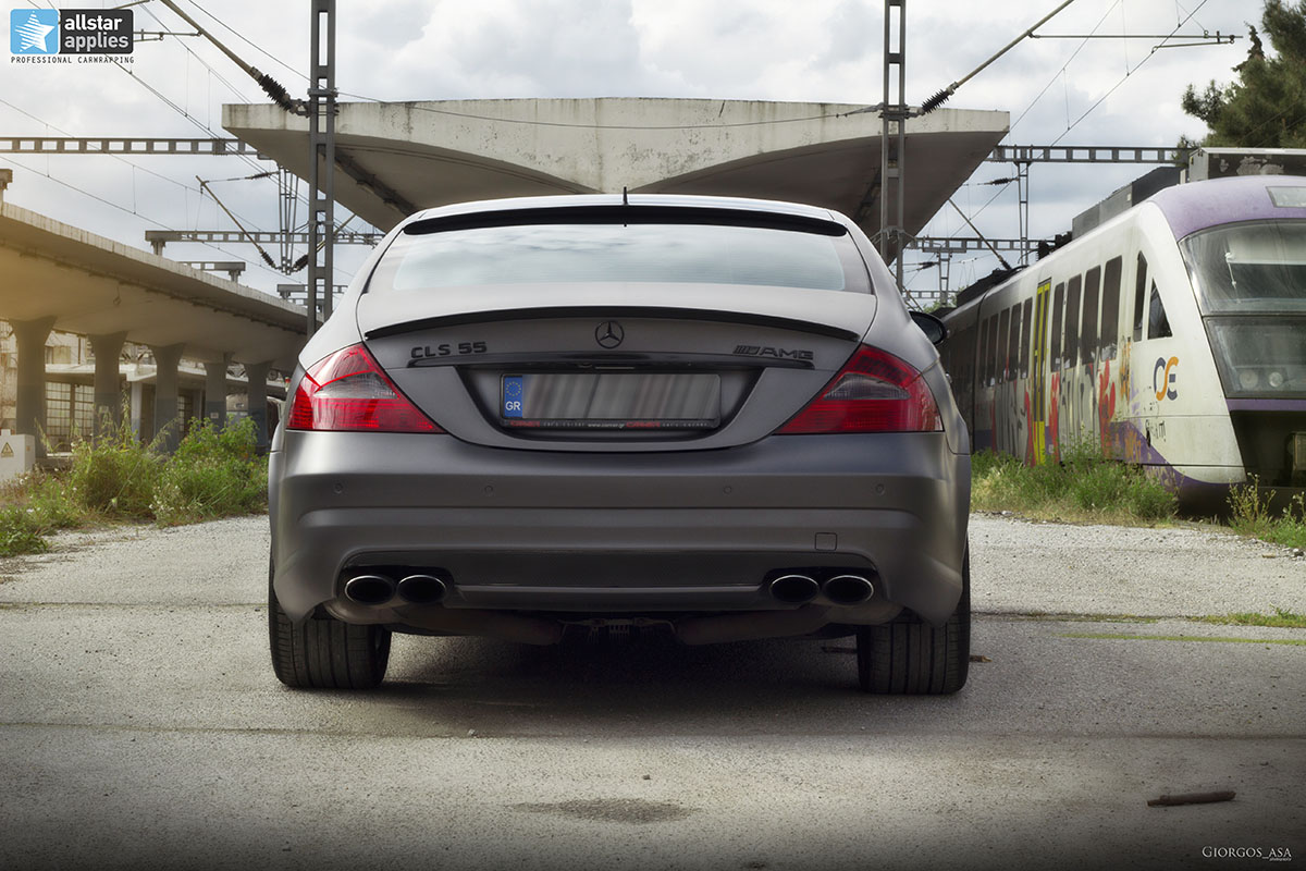 Mercedes CLS 55 AMG - Dark Grey Matte (12)