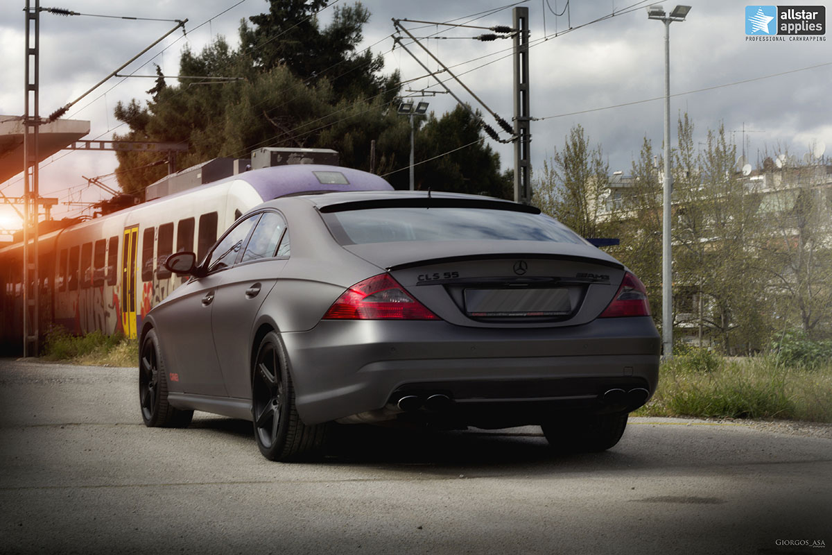 Mercedes CLS 55 AMG - Dark Grey Matte (13)